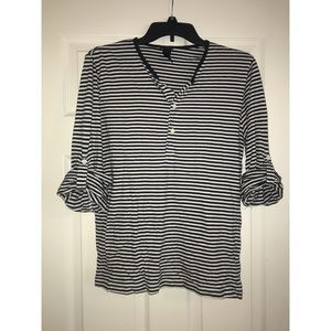 Striped H&M shirt!
